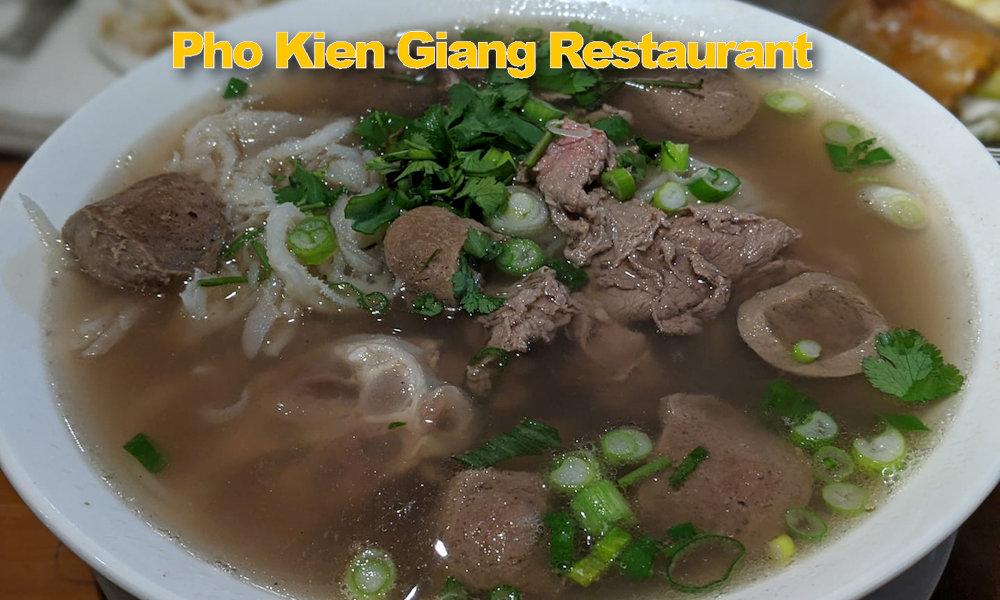 Pho Kien Giang Restaurant