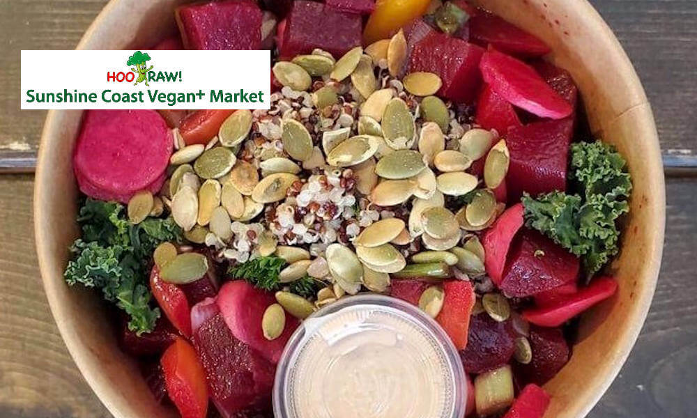 HooRaw Sunshine Coast Vegan Market